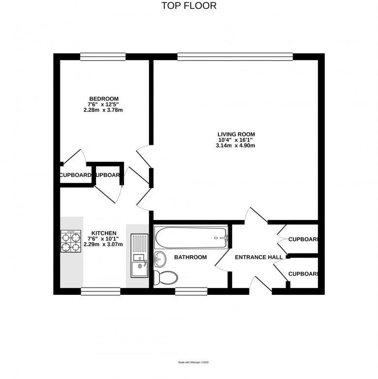Floorplans For Tudor House, Bracknell